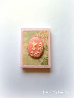 """Mini toile décorative série """" Songes de fleurs """" n°85 : Accessoires de maison par jademiel-etincelles"""
