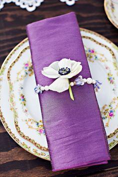 Vintage Elegant wedding tabletop