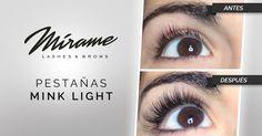 Makeup Artist ^^ | https://pinterest.com/makeupartist4ever/  Extensiones de pestañas Mink Light #perfect  miramexxl.co
