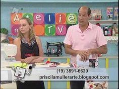 Ateliê na Tv - Tv Século - 10-01-13 - YouTube Cobre fogão Priscila Muller