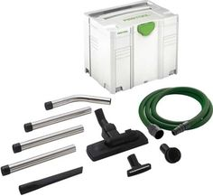 Festool 497700 Tradesman / Installer Cleaning Set Get the most out of your CT Dust Extractor investment by supplementing it with a Festool cleaning set.