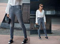 Mariona Planas de Diario de Estilo con jeans Caroche
