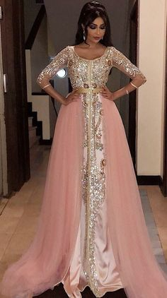 Caftan 2018 - Luxury Moroccan Dresses for Sale Mermaid Evening Gown, Sexy Evening Dress, Lace Evening Dresses, Evening Gowns, Prom Gowns, Muslim Prom Dress, Muslim Wedding Dresses, Dress Wedding, Wedding Bride