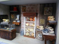 Magasin Miniature  La fromagerie
