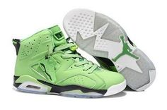 Discover the Air Jordan 6 Green Lastest collection at Footlocker. Shop Air Jordan 6 Green Lastest black, grey, blue and more. Get the tones, get the features, get the look! Nike Air Jordans, Cheap Jordans, New Jordans Shoes, Men's Shoes, Green Jordans, Shoes 2016, Footwear Shoes, Boys Shoes, Air Jordan Retro