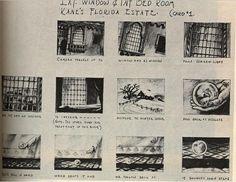 Citizen Kane, Orson Welles, storyboard, 1941