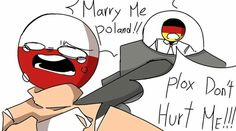 Geez new country Poland Germany, Dont Hurt Me, Its Time To Stop, Country Men, Chibi, Hetalia, Memes, Cute Pictures, History