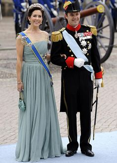 Attending the wedding of Crown Princess Victoria of Sweden and Daniel Westerling - Stockholm, 19 June 2010