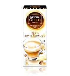 ネスカフェ ゴールドブレンド 泡立つホワイトエスプレッソ :: ネスレ製品ラインナップ