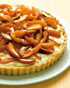 Everyday Apricot Tart. I think you could use any fruit to top this!
