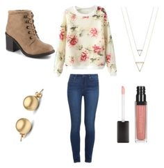 """Outfit 344"" by girlychic1114 ❤ liked on Polyvore featuring Paige Denim"