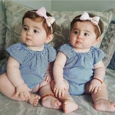 Adibaumair❤️sheikh Twins Girls, Cute Baby Twins, Cute Funny Babies, Twin Baby Girls, Cute Little Baby, Twin Babies, Baby Love, Cute Kids Pics, Cute Baby Girl Pictures