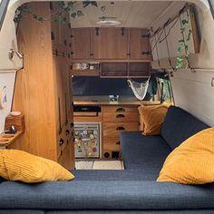 Likes, 47 Comments - Vanlife Camper Caravan, Camper Van, Campers, Van Life, Rest, Sleep, Travel, Caravans, Furniture
