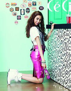 After School's UEE CéCi Korea Magazine July 2012