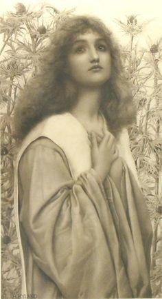 Supplication ~ Henry Ryland ~ (English: 1856-1924)