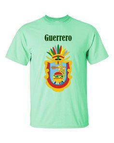 MEX-GRR1 Guerrero Mexico 2000 Playera Adulto