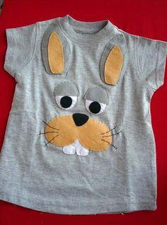 Как сделать аппликацию из ткани заяц, кролик?