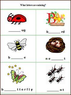 esl worksheets | Spring English worksheets, free printable spring English language arts ...