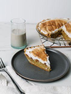 The Best Gluten-Free Buttermilk Pie Recipe! — The Effortless Chic