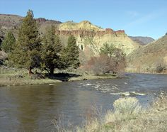 cathedral Rock and John Day River