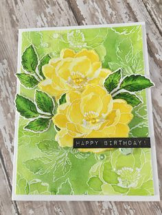 Crafting By Carol, flower sketch, Altenews; Beautiful Day, watercolor
