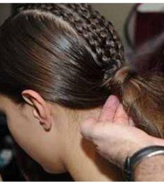 3 braid pony tail