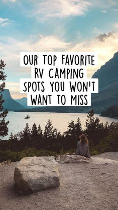 Camping Places, Camping Spots, Camping Life, Rv Life, Rv Camping, Montana National Parks, Grand Teton National Park, Banff National Park, Rv Parks