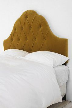Tufted headboard, from Urban Outfitters.