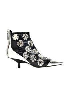 Loewe Silver & Black Shoe.
