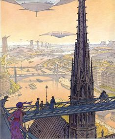 La ville du futur dans les bandes dessinées   Demain La Ville