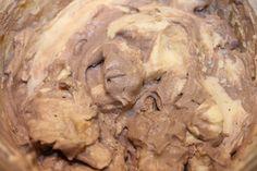 Fro Yo  Greek yogurt, sug free vanilla pudding mix, PB2, spenda, cocoa and cool whip.