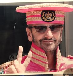 5/26/2017 Ringo Starr: Happy Sergeant Pepper Day everybody please send love peace and love