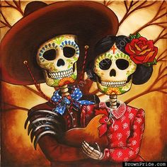 DIA DE LOS MUERTOS ☠~Day of the Dead~ Art