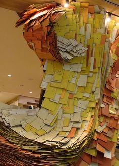 envelopes sculpture