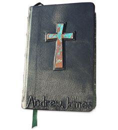 [custom leather bible cover] so beautiful!