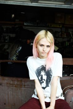 Charlotte Free Rocks Cool Style for the Cover Story of No. Pastel Hair, Pink Hair, Ombre Hair, Soft Grunge Hair, Grunge Goth, Grunge Style, Charlotte Free, Amy, Candy Hair