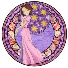 Kingdom Hearts Princess Rapunzel Station by NightyNat on deviantART
