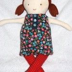 Quick Craft Post: (Another) Black Apple Rag Doll
