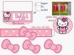Kit de Hello Kitty para Imprimir Gratis