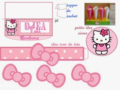 Hello Kitty Free Printable Kit.