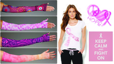 Win a LympheDivas compression armsleeve of your choice in honor of Breast Cancer Awareness Month and get fashion tips on how to jazz up any armsleeve. Check out our blog for more information.