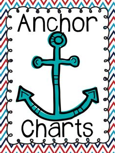 FREE Anchor Chart Binder Cover: Keep a binder of your anchor charts handy for students to refer to when needed!