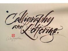 Luca Barcellona - Calligraphy