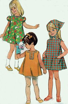 Vintage 1960s Sewing Pattern Simplicity 7515 JIFFY by sandritocat, $10.00