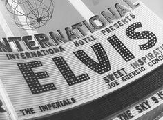 International Hotel Marquee ! Elvis at the International Hotel   Las Vegas