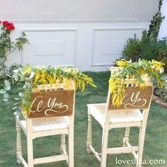 ゼクシィ掲載 / イス / ディスプレイ / ミモザ / 装花  / ウェディング / 結婚式 / wedding / オリジナルウェディング / プティラブーシュカ / トキメクウェディング