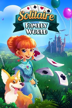 Die neueste upjers App kombiniert Solitär- und Aufbauspiel! #game #mobile #appgame #ios #android #cardgame #tycoongame #kartenspiel #neu Farm Games, Family World, Gaming, Android, Apps, Illustrations, Adventure, Fun, Fictional Characters