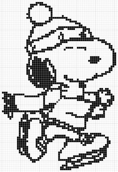 Charlie Brown Christmas Coloring Pages | Luvs 2 Knit: Charlie Brown & Snoopy Christmas Charts