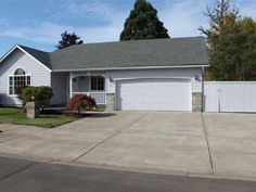 Beautifully updated 1-level home with Open Floor Concept. Shared Living Room and Dining Room with vaulted ceiling. Kitchen with new Stainless Steel appliances laminate floors and granite counters. New roof and interior paint. Nicely manicured yard with sprinklers cement and brick borders around planting beds irrigation system tool shed newer fenced back yard gated RV parking and water feature. Trex deck off the kitchen has a Sunsetter retractable awning perfect for entertaining.