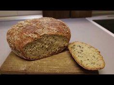 Recept na domácí chleba - YouTube Pizza, Banana Bread, Youtube, Desserts, Food, Tailgate Desserts, Deserts, Essen, Postres